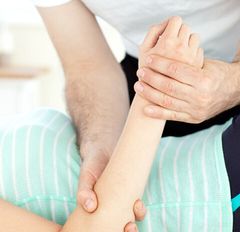 The Physiotheraphy Partners Arm Massage